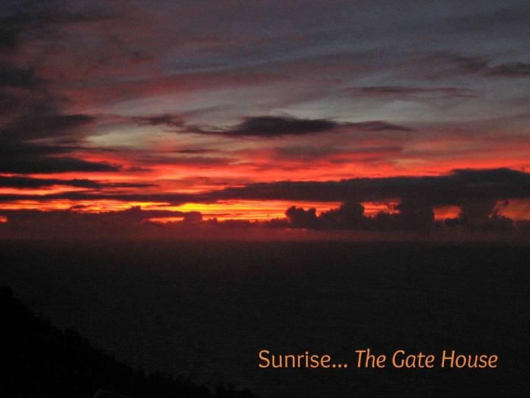 The Gate House - For Sale - Albert & Michael - Saba Island Properties