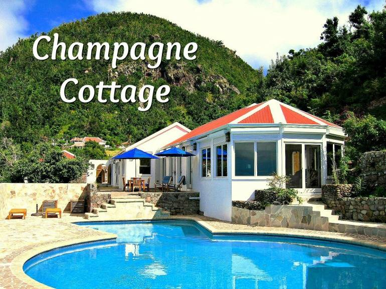 Champagne Cottage - Albert & Michael - Saba Island Properties