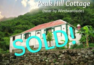 Peak Hill Cottage - Sold - Albert & Michael - Saba Island Properties
