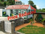 Ocean Breeze Cottage - For Sale - Albert & Michael - Saba Island Properties