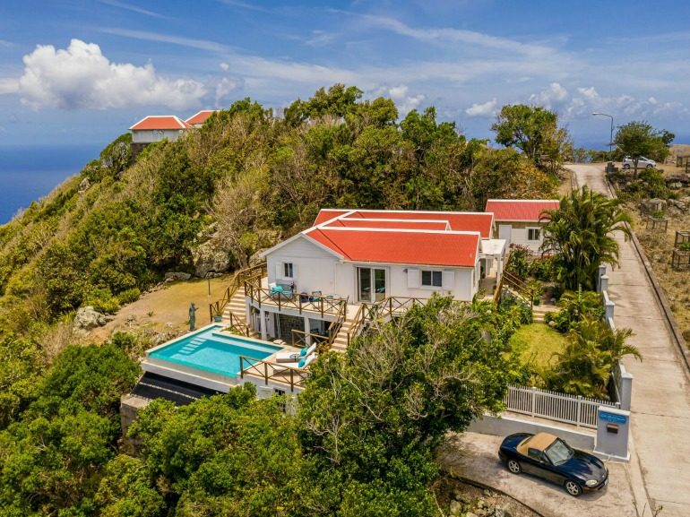At Home On Saba - Albert & Michael - Saba Island Properties
