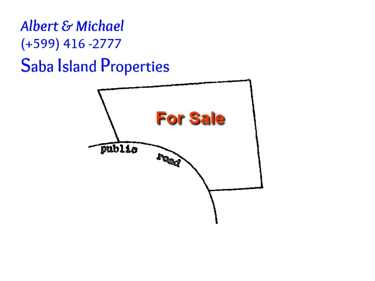 Flat Point Home - For Sale - Albert & Michael - Saba Island Properties
