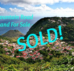 Mountain Road Land - SOLD - Albert & Michael - Saba Island Properties