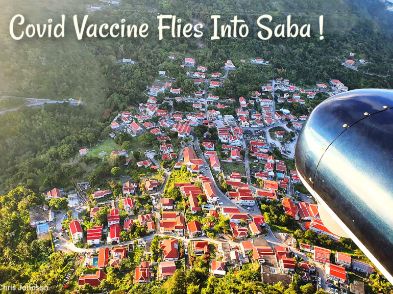 Vaccinated! Saba is a World Leader - Albert & Michael - Saba Island Properties