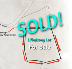 Windsong Lot Sold - Albert & Michael - Saba Island Properties